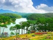 林同省大叻市——游客春游目的地