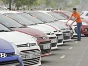 2017年1月份越南的原装汽车进口额达1.65亿美元
