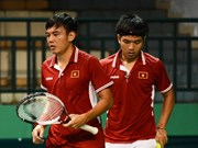 2017戴维斯杯网球公开赛男子团体赛:越南队负于中国香港队