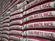 泰国计划2017上半年清空剩余的801万吨大米储备