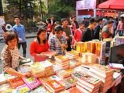 2017丁酉年春节书市街实现销售收入70多亿越盾