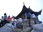 2017年安子春节庙会吸引四面八方游客赶庙会赏风景