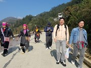 老街省信仰旅游颇受游客的青睐