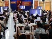 各省、中央直辖市省委、市委和中央直属机关党委报告员工作会议在河内市举行