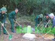 越南得农省与柬埔寨蒙多基里省辅助界碑立碑工作正式启动