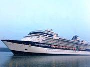 春节期间越南西贡旅行服务公司迎接2艘国际豪华游轮