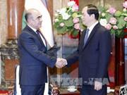 越南国家主席陈大光:应充分挖掘越南与乌兹别克斯坦的合作潜力