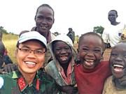南苏丹巡逻路上的难忘纪念