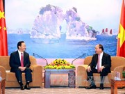 越南政府总理阮春福会见中国广西壮族自治区党委书记彭清华