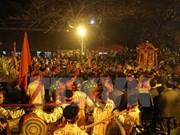 越南南定省陈祠开印仪式吸引数万名游客参加