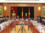 阮富仲总书记:中央经济部是中央委员会、政治局和秘书处的好参谋、好助手