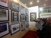 """""""黄沙、长沙归属越南:历史证据和法律依据""""地图资料展在太原省举行"""