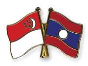 老挝外长对新加坡进行访问