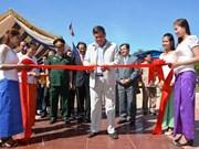 越柬友谊纪念碑修缮工程竣工