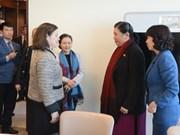 越南积极为实施联合国和各国议会联盟的目标做出贡献