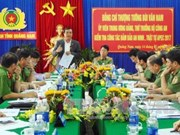 广南省努力为2017年APEC系列会议确保治安秩序
