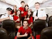 2016年越捷航空公司旅客运输量超过1400万人次  营业收入超27万亿越盾