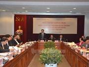 """题为""""在新形势下完善社会主义定向市场经济体制""""学术研讨会在河内举行"""