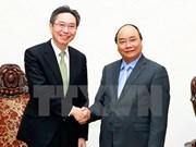 越南政府总理阮春福会见三菱东京日联银行总裁