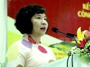 阮富仲总书记就部分新闻媒体机构报道有关工商部副部长胡氏金钗的信息做出指导性意见