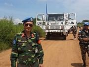 2016年联合国维和行动为越南多边对外工作做出重要贡献