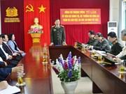 越南公安部部长苏林来到西北安全局调研