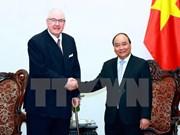 越南政府总理阮春福会见英国怡和集团主席亨利·凯瑟克爵士