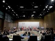 二十国集团非正式外长会议落下帷幕