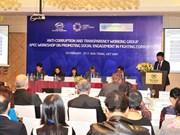 APEC八个工作组共商2017年合作方向