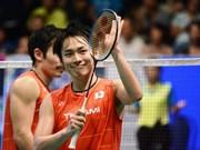 2017年亚洲羽毛球混合团体锦标赛:冠军花落日本