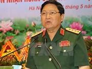 越南国防部部长吴春历对泰国进行正式访问