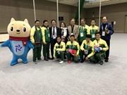 越南队顺利出征2017年亚洲冬运会