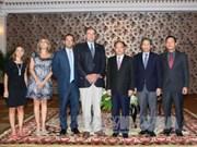 胡志明市委常务副书记必成冈会见阿根廷国家方案党主席