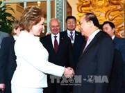 俄联邦委员会主席:越南发展速度在亚太地区名列前茅