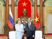 国家主席陈大光:希望越俄经贸合作关系实现突破