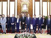 越南国家主席陈大光:大力推动越以两国高技术合作关系发展