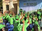 世行资助芹苴市50万美元以开展《为了绿色、清洁、美丽的城市》活动