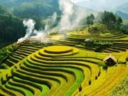 越南安沛省姆庚寨梯田跻身全球五十大最美的旅游景点