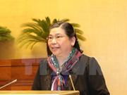 越南国会常务副主席丛氏放会见欧洲议会外事委员会人权分委会代表团