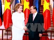 俄罗斯联邦委员会主席高度评价与越南的关系