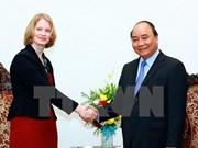 越南政府总理阮春福会见新西兰新任驻越南大使温迪·艾琳·马休斯