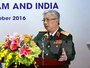 越南国防部副部长阮志咏上将会见以色列军事工业集团董事长