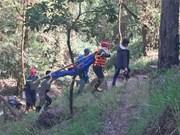 一名波兰游客在林同省老虎洞暴布遇难