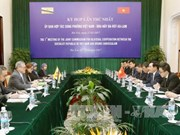越南与文莱双边合作委员会召开第一次外交部长级会议