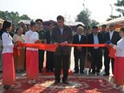 越柬建交50周年:越柬友谊碑修缮工程正式竣工