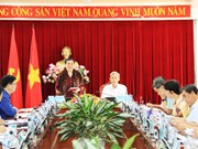 越南国会副主席丛氏放在同奈省调研指导工作
