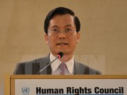 越南为国际人权事业作出积极贡献