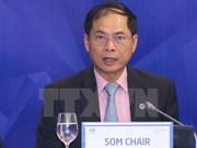 2017年APEC SOM 主席裴青山:越南对地区共同关心的内容提出切实可行的意见和措施