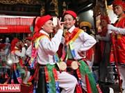 河内清池县朝曲村的传统艺术——蓬舞