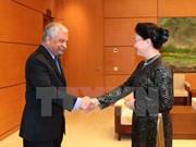 阮氏金银会见联合国开发计划署驻越首席代表马勒赫塔